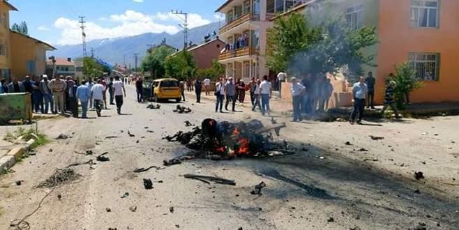 Tunceli'de bombalı araçla saldırı: Çok sayıda yaralı var