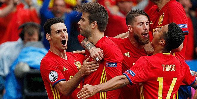 İspanya 1-0 Çek Cumhuriyeti