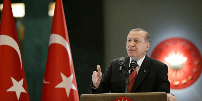 Cumhurbaşkanı Erdoğan'dan İngiltere Başbakanı'na tepki