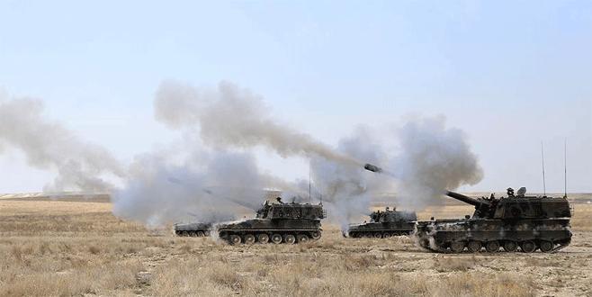 Türkiye'ye atış hazırlığındaki IŞİD hedefleri yerle bir edildi!