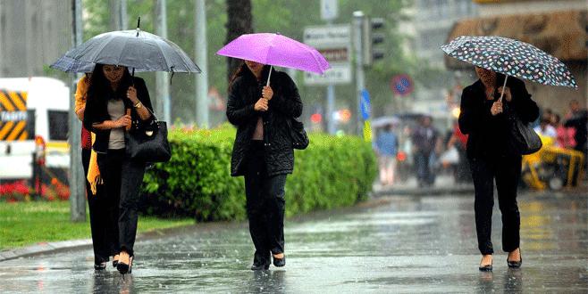 Bursalılar dikkat! Meteoroloji'den bugün için kritik uyarı