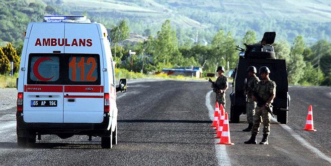 Polis aracına bombalı tuzak: 6 yaralı!