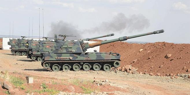 Suriye'deki IŞİD hedefleri vuruldu