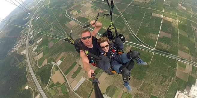 Bursa'da yamaç paraşütüne ilgi artıyor