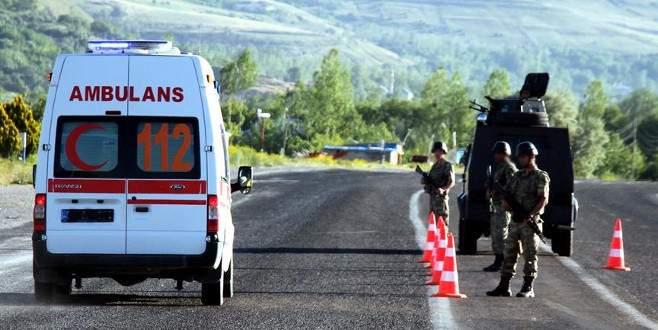 Şemdinli'de askere hain tuzak: 3 yaralı