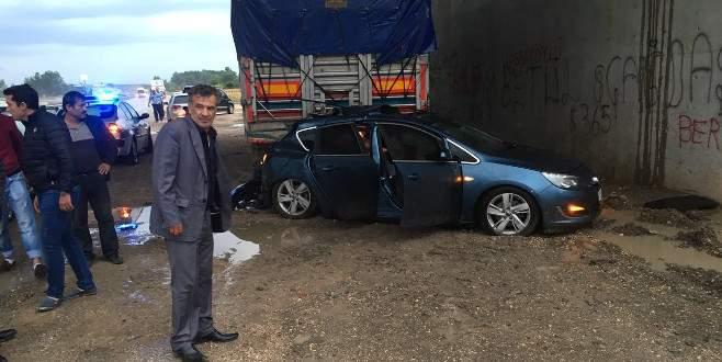 MHP Karacabey İlçe Başkanı'nın iki oğlu kazada yaralandı