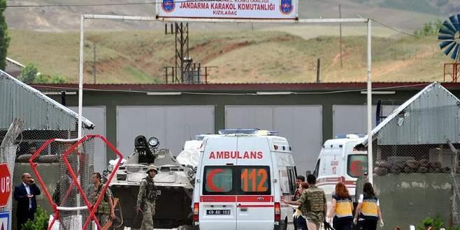 Teröristler karakola saldırdı: 3 yaralı
