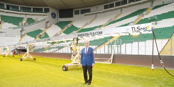 Stadyuma Başkan garantisi