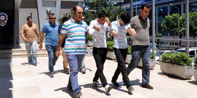 Bursa'da dolandırıcılık şebekesinin iş kazası