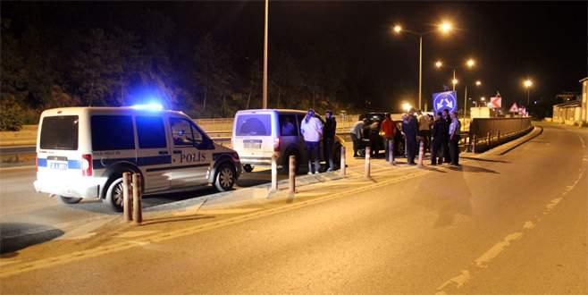 Bursa-Eskişehir çevre yolunda şüpheli araç alarmı