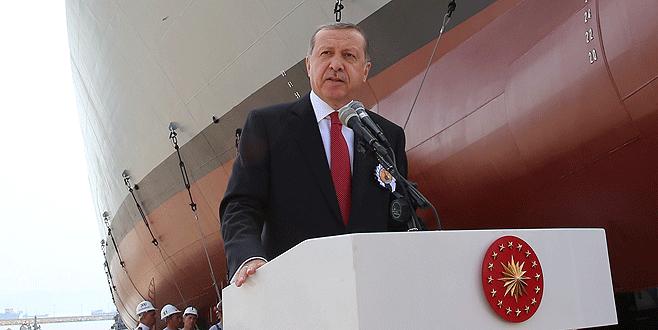 Erdoğan: 'Uçak gemimizi inşallah yapacağız'