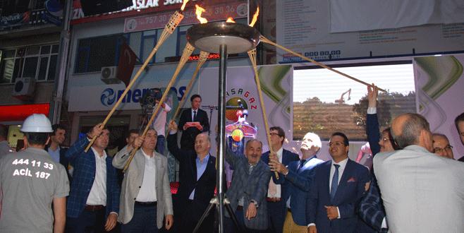 İznik'te doğalgaz sevinci