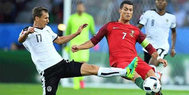 Portekiz-Avusturya karşılaşmasından gol sesi çıkmadı