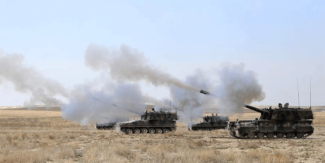 TSK, Suriye'de IŞİD hedeflerini vurdu