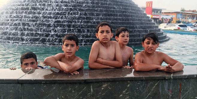 Bursa'da sıcaklık 40 dereceyi buldu