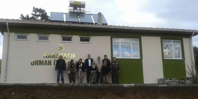 Harmancık'a orman müdahale binası
