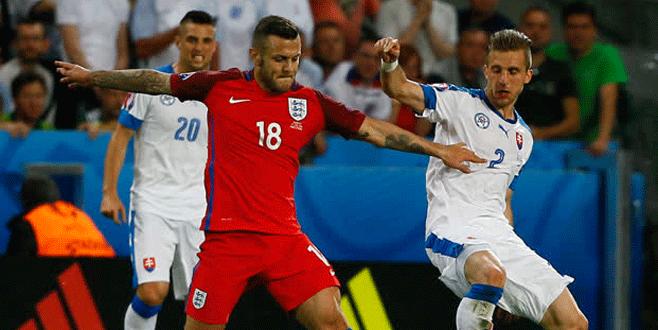 Slovakya – İngiltere maçında golsüz beraberlik
