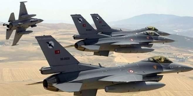 TSK açıkladı: Sınırda F-16 hareketliliği!
