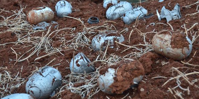 Rusya'nın Suriye'de misket bombası attığı ortaya çıktı