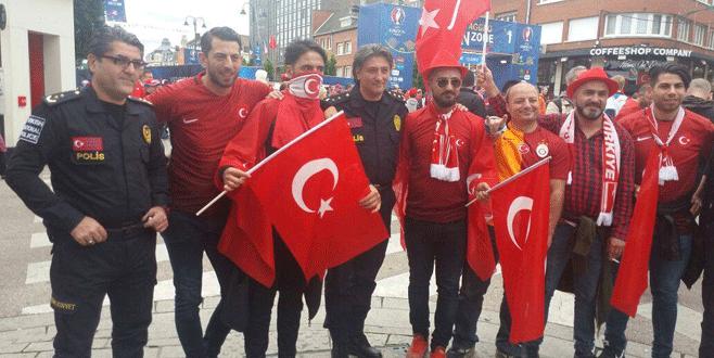 Çek Cumhuriyeti-Türkiye maçı öncesinde renkli görüntüler