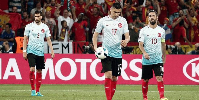 A Milli Takımımız EURO 2016'ya veda etti