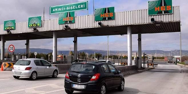 Köprü ve otoyollar bayram boyunca ücretsiz