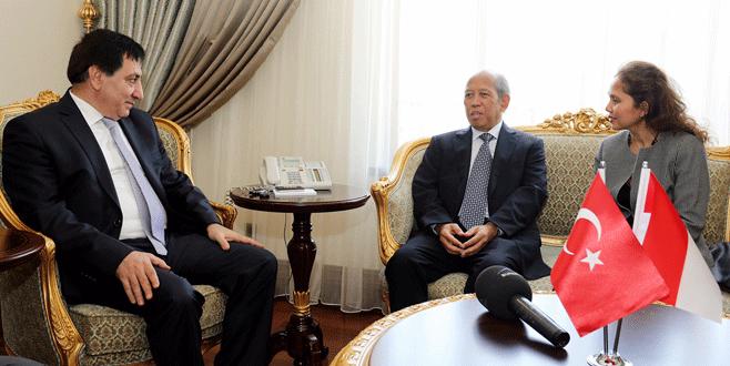 Endozezya Büyükelçisi Küçük'ü ziyaret etti