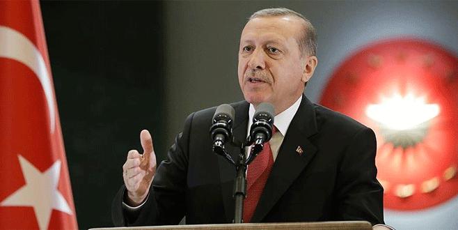 Erdoğan: 'Yetimin hakkını terör örgütlerine gönderemezsin'