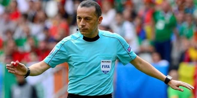 UEFA'dan hakem kararları! Cüneyt Çakır…