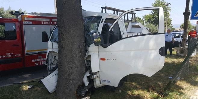 Trafik kazasında yaralanan genç, yaşam savaşını kaybetti