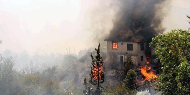 Turizm cennetinde yangın kabusu