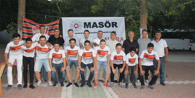 Yenisölöz Masör'den Bağlarbaşı'na destek