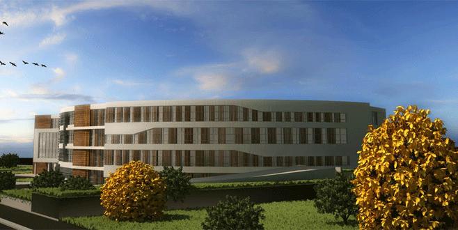 Bursa'ya modern bir hastane daha