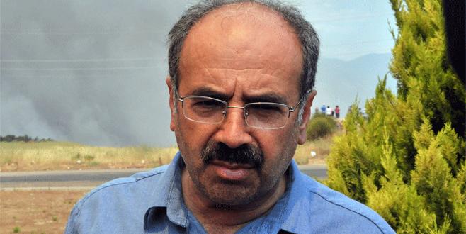 Orman Genel Müdürü İsmail Üzmez, yangın bölgesinde