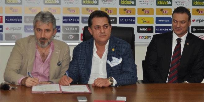 Erdoğan'ın yeğeni Eskişehirspor'un sportif direktörü oldu