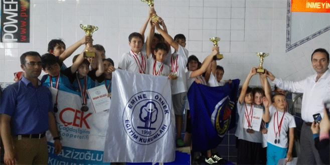 Havuzun Örnek şampiyonları