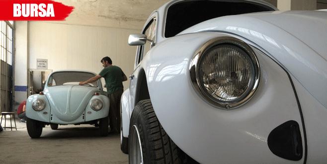50 yıllık araçlar sıfırlanıyor 'vosvos'lar yeniden doğuyor!