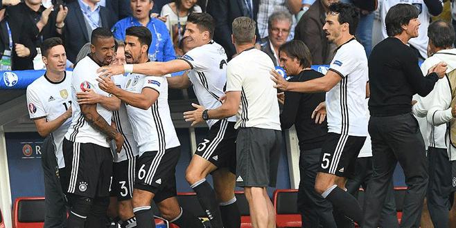 Almanya çeyrek finalde