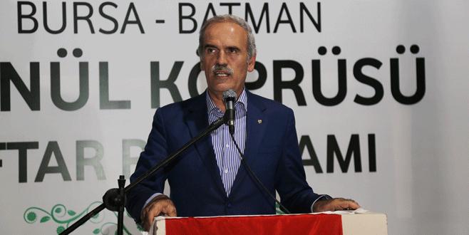 Bursa'dan Batman'a gönül köprüsü