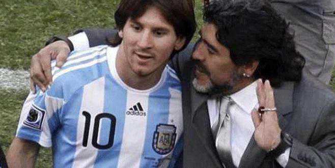 Maradona'dan Messi'ye dön çağrısı
