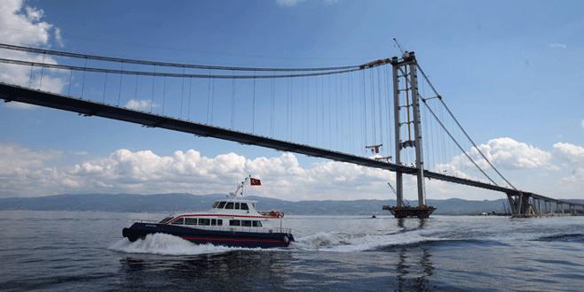 Osman Gazi Köprüsü hizmete giriyor