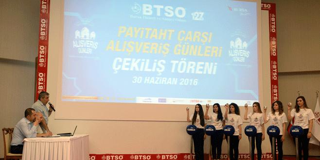 Bursa'da 10 otomobilin sahibi belli oldu