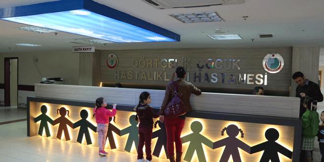 Çocuk hastanesinin acil servisi yenilendi
