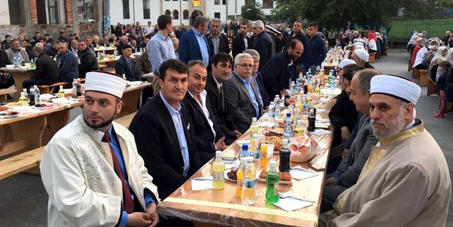 Bulgaristan'da kardeşlik iftarı
