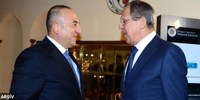 Çavuşoğlu, Lavrov ile Soçi'de görüştü