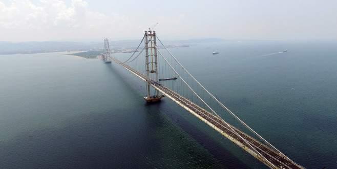 Osmangazi Köprüsü'nün 3 yıllık öyküsünün görüntüleri