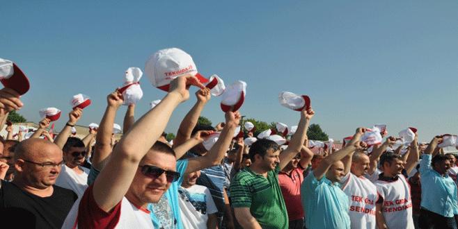 Bursa Nestle Karacabey Fabrikası'ndaki grev sona erdi