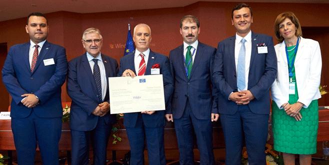 Avrupa Konseyi'nden Nilüfer'e 'Avrupa Diploması'