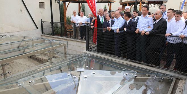 Paşayiğitbey Türbesi törenle hizmete açıldı