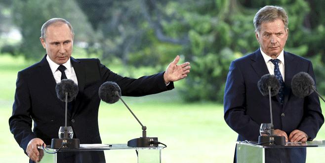Putin'den NATO'ya Finlandiya tepkisi